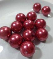 12 Perle in color FRAGOLA