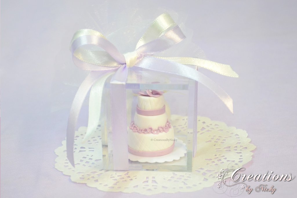 Bomboniera Matrimonio con Wedding Cake Personalizzata