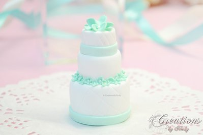 Wedding Cake In Miniatura