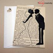 """Biglietto """"Storia d'amore_il momento del bacio"""""""