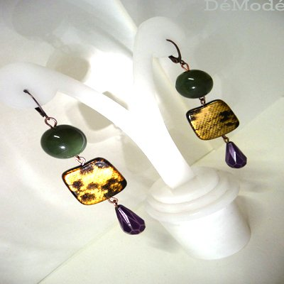 orecchini di pizzo spedizione gratuita