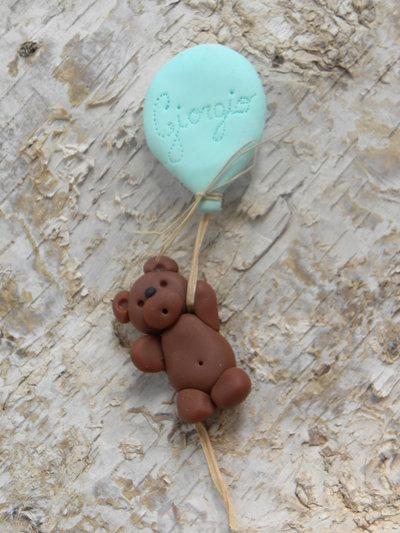 calamita bomboniera il palloncino e l'orsetto