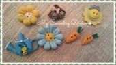 "Bottoni Artigianali ""Garden"""