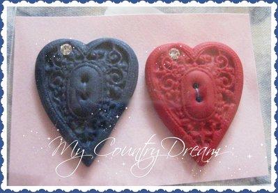 "Bottoni Artigianali ""Heart"""