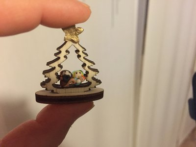 Mini Presepe in fimo