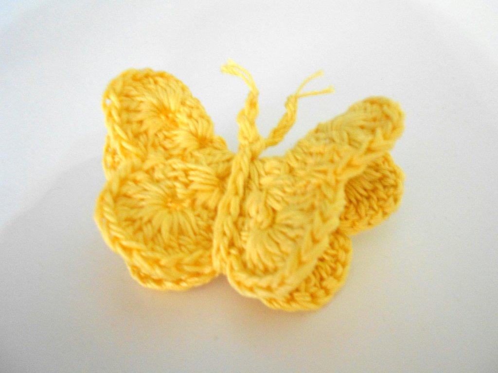 Fermaglio per capelli farfalla