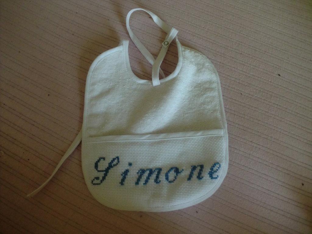 bavalino con nome Simone