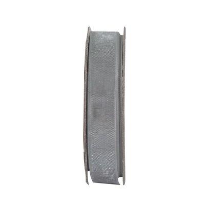 Nastro in organza - Soft Silver
