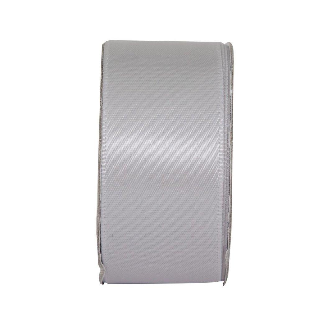 Nastro satinato largo - Soft Silver