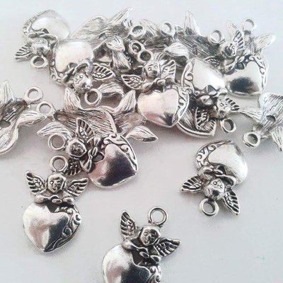 Charms angioletto mm 24x17