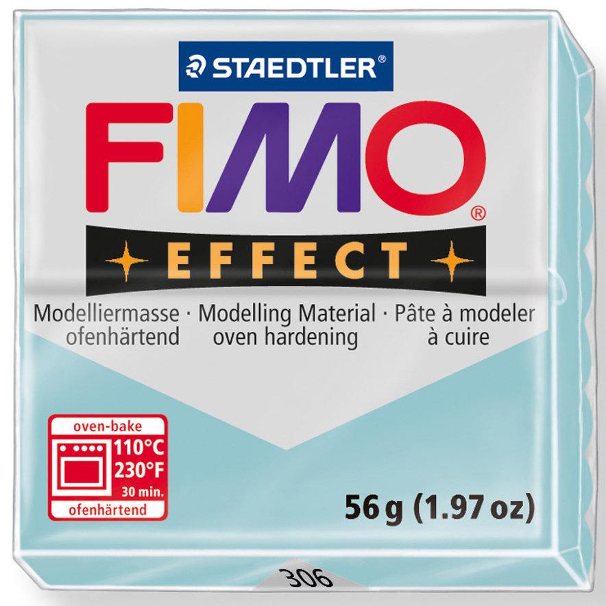 Panetto Fimo Effect 56 gr. - n. 306 Cristal blu ghiaccio