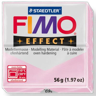 Panetto Fimo Effect 56 gr. - n. 206 Rosa Quarzo