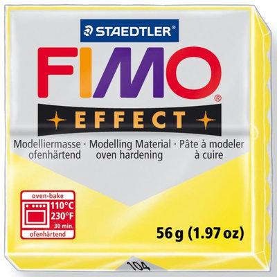 Panetto Fimo Effect 56 gr. - n. 104 Giallo Trasparente