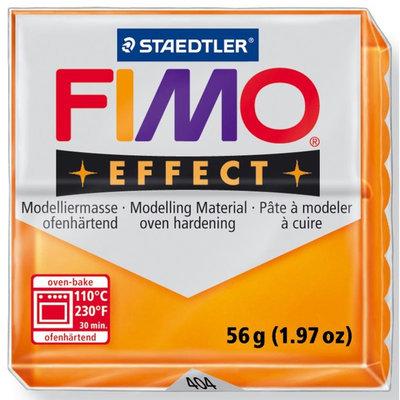 Panetto Fimo Effect 56 gr. - n. 404 Arancione Trasparente