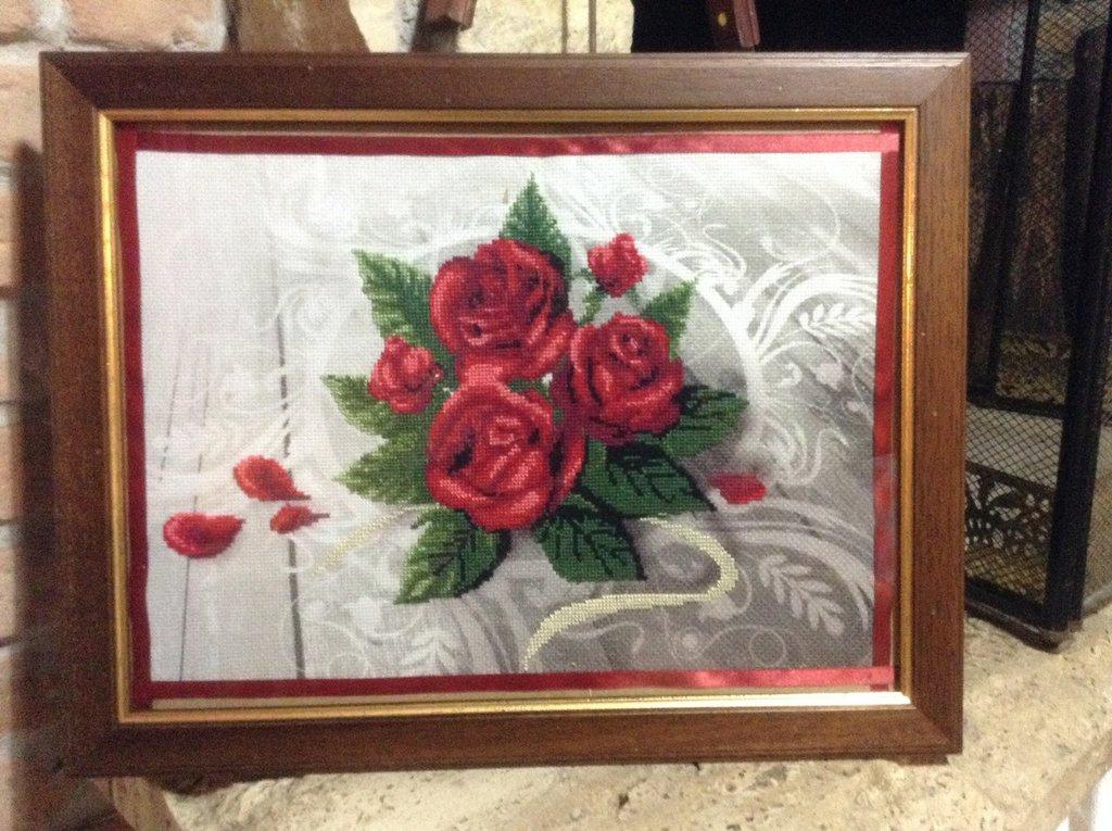 Quadro con rose