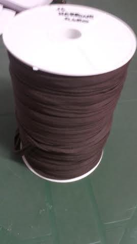 fettuccia in licra marrone scuro