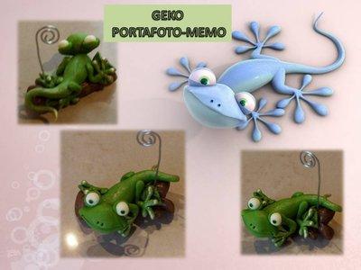 Geko portafoto-memo