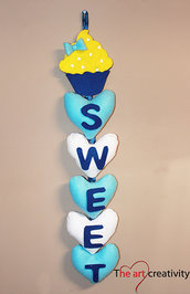 "Decorazione ""Sweet Cupcake"""