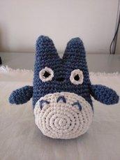 Peluche amigurumi Totoro blu