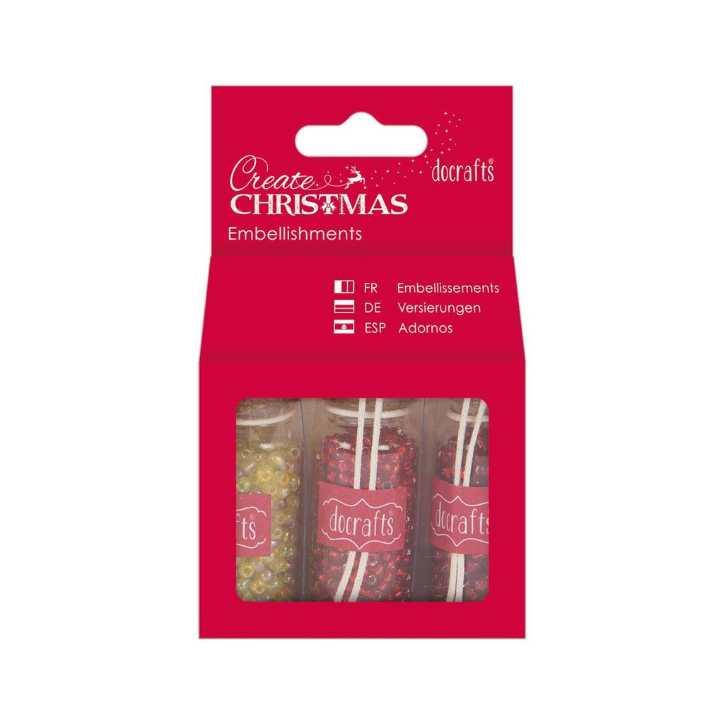 Embellishments Pack - Red