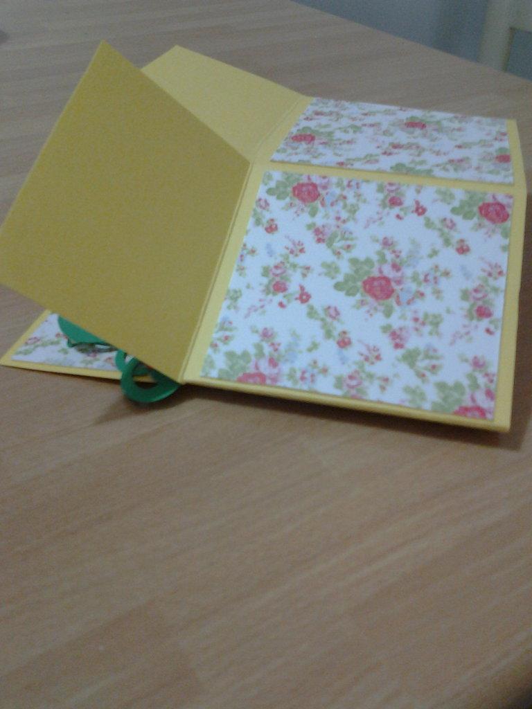 Explosion Card cartolina bomboniera, segnaposto