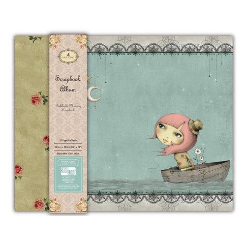 "Scrapbooking album 30x30 cm - Mirabelle ""Adrift"""