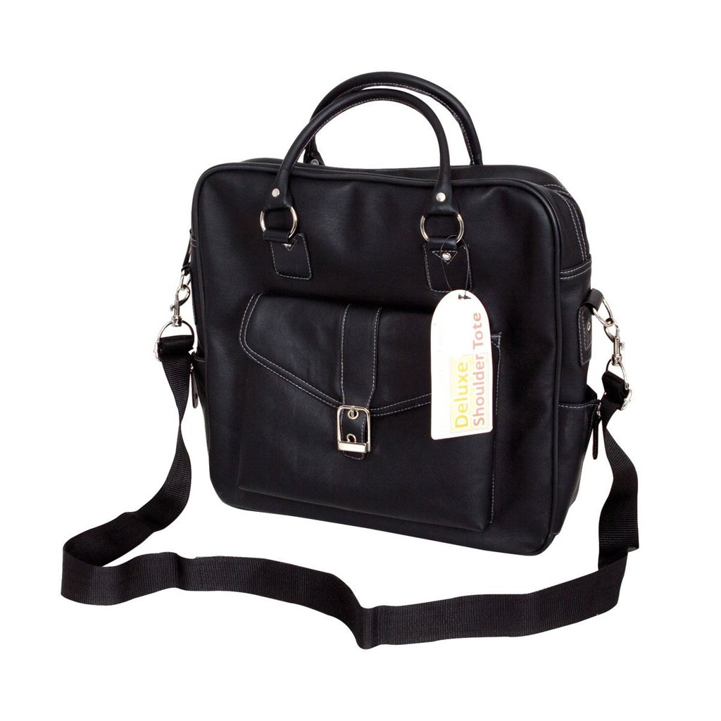 Deluxe Shoulder Tote - Black
