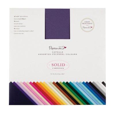 Blocco di cartoncino colorato 30x30 cm