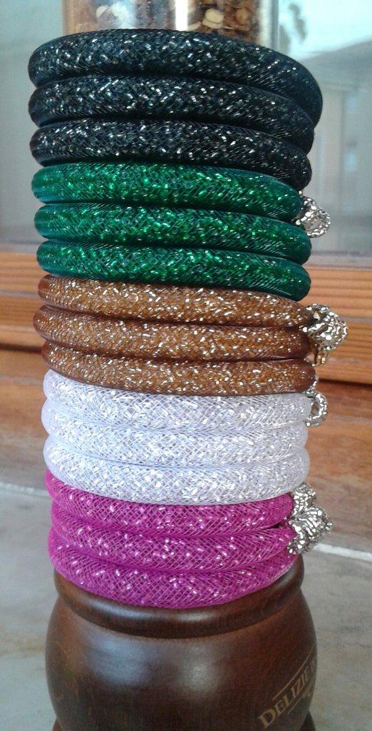 Braccialetti  colorati e luminosi