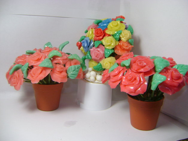 rose di porcellana fredda