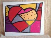 Regalo pannelli decorativo cuore.