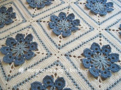 2 3 coperta granny come unire le piastrelle granny all piastrelle