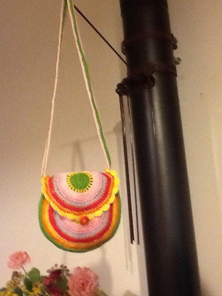 Borsine tracolla multicolore