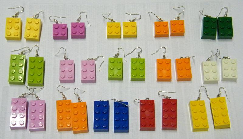Orecchini LEGO