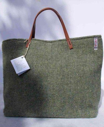 """Borsa """"Tote Bag"""" verde chiaro"""