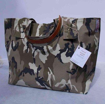 """Borsa """"Tote Bag"""" militare verde"""