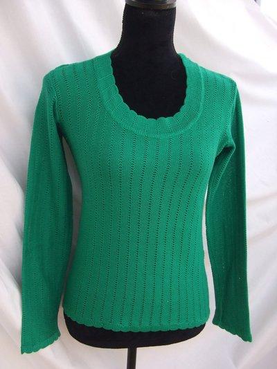 maglietta donna maglia cotone manica lunga