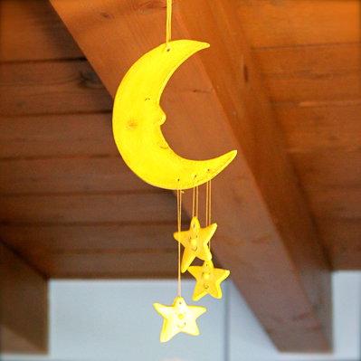 Luna e stelle come campanelle al vento, tintinnìo dell'anima