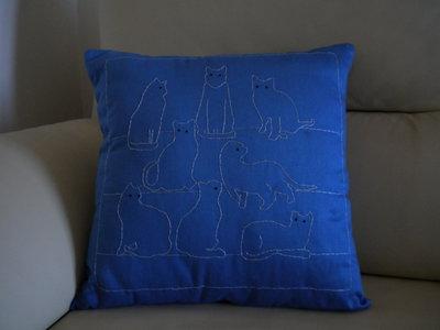 cuscino fantasia di gatti