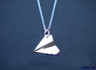 Collana Aeroplanino in Argento One Direction Harry Styles