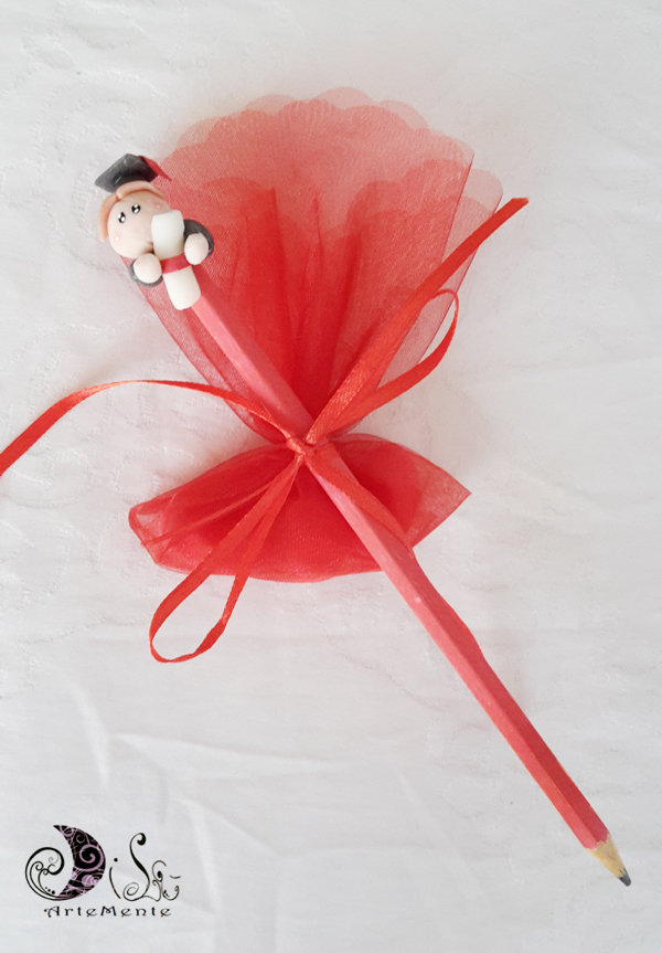 Ben noto Bomboniere laurea matita completa confetti - Feste - Bomboniere  EM31