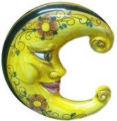 Ceramica sole, luna