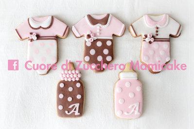 Biscotti decorati nascita / battesimo, bomboniera