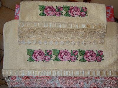asciugamani rose