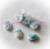 Bomboniera nascita/battesimo, confetti decorati