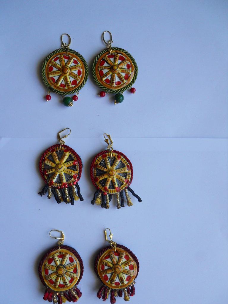 Orecchini Siciliani Creati a mano