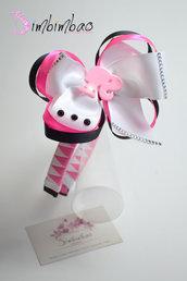 cerchietto frontino corona coroncina cerchiello barbie headband hairband hair bow hair clips grosgrain ribbon
