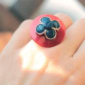 A.9.2015 - anello con fiore vintage