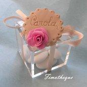 bomboniera calamita biscotto confezionata con scatola