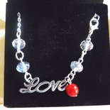 Collana girocollo amore love idea regalo per lei